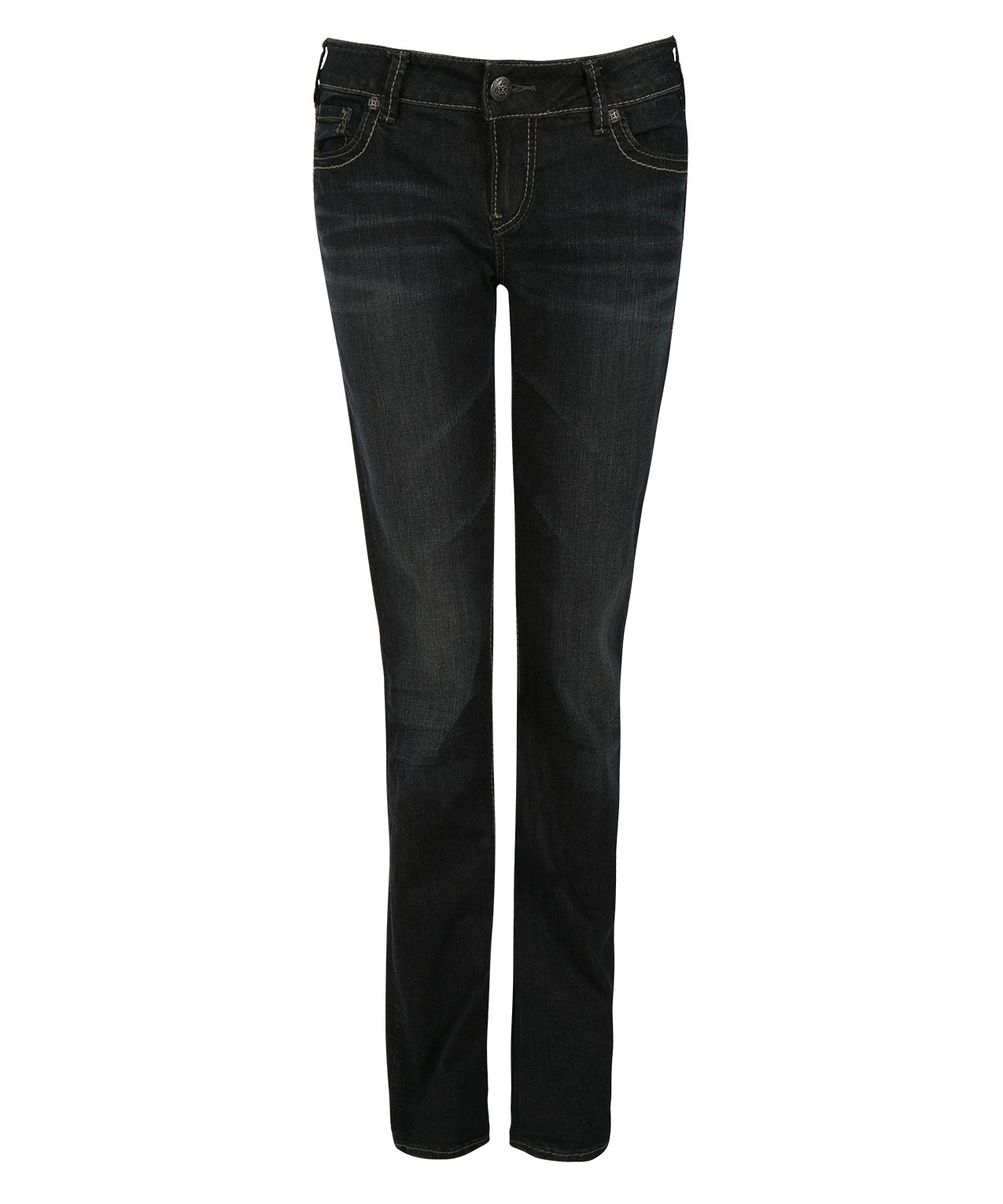 Silver Jeans Co. Suki Mid Straight Jean | Rickis