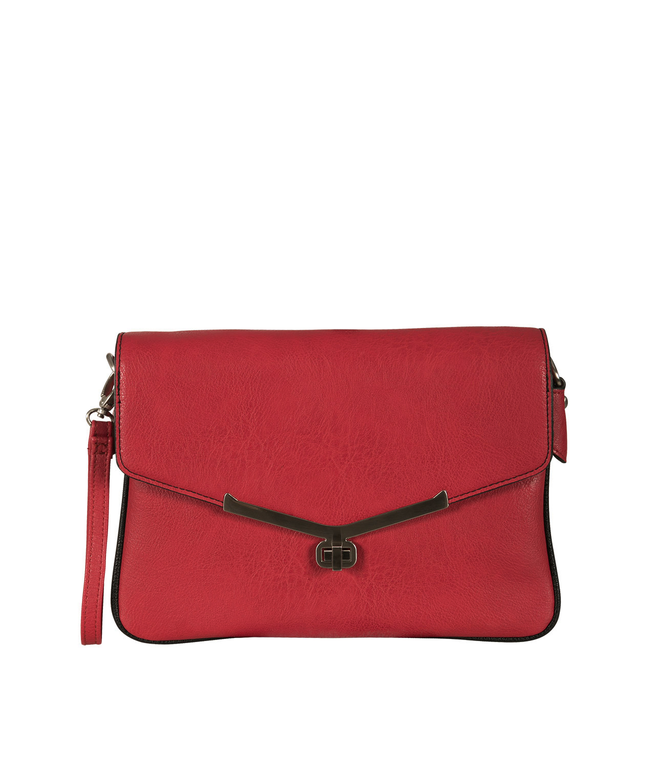 Red Crossbody Clutch Bag | Rickis