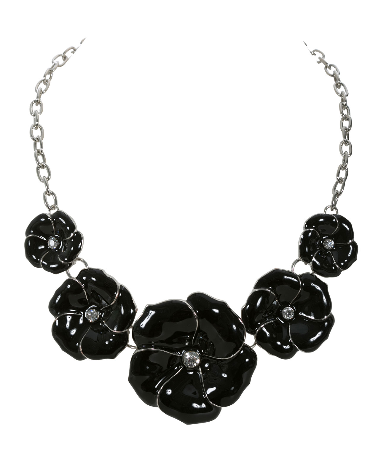 necklace gemour ny york black products downtown kiera cut new square