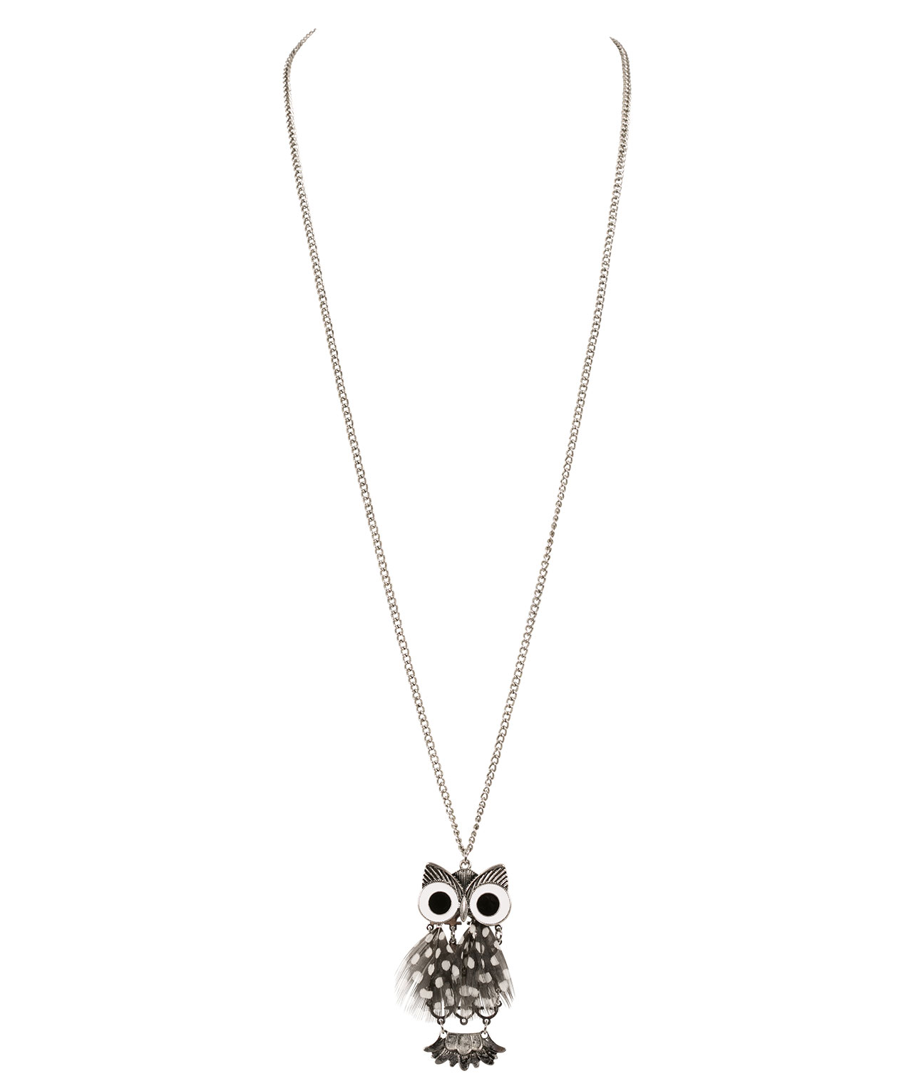 pendant new product owl kate jewelry spade gallery york faux pearl necklace lyst in normal gold