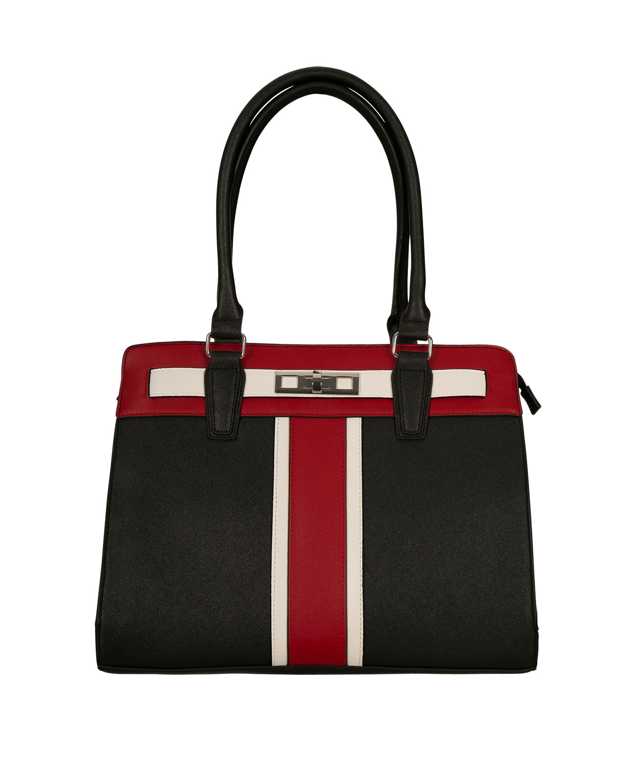 bb510ae7b1e8 Structured Colour Block Satchel