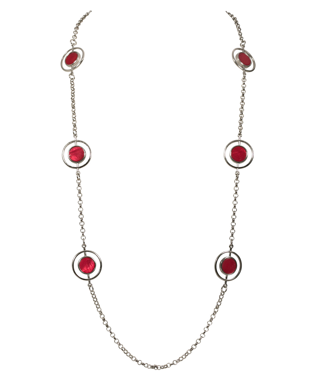 from garnet sterling diamonds necklace india jewelry queen crimson of p novica silver