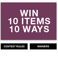 10 Items 10 Ways Giveaway