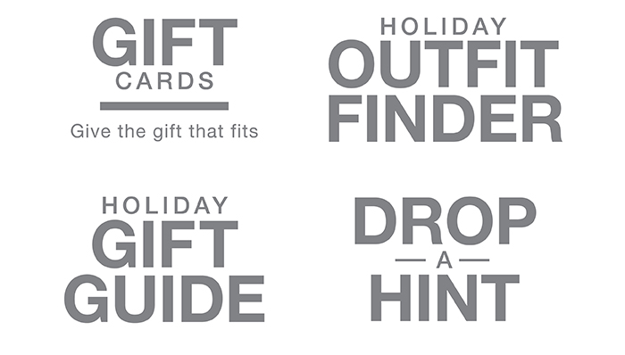 Holiday Quick Links