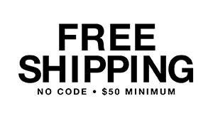 Free shipping $50 minimum